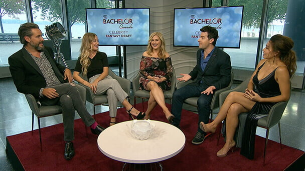The Bachelor Canada Celebrity Fantasy Draft